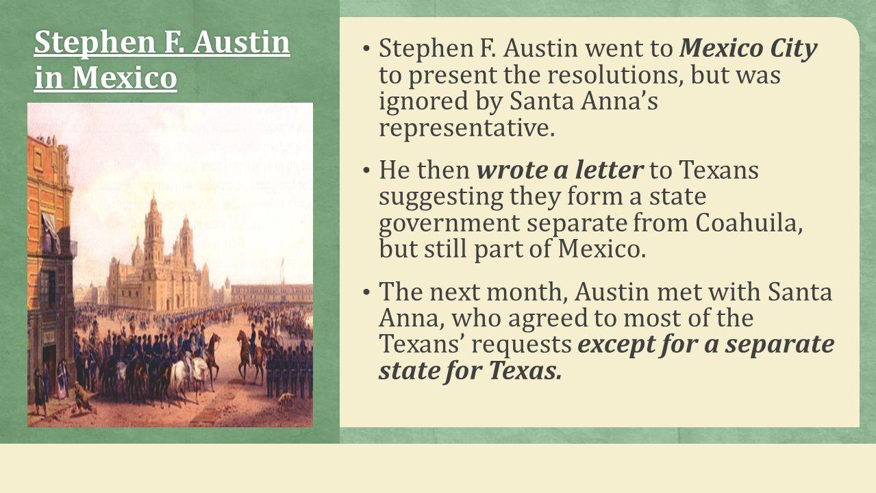 Stephen F. Austin in Mexico
