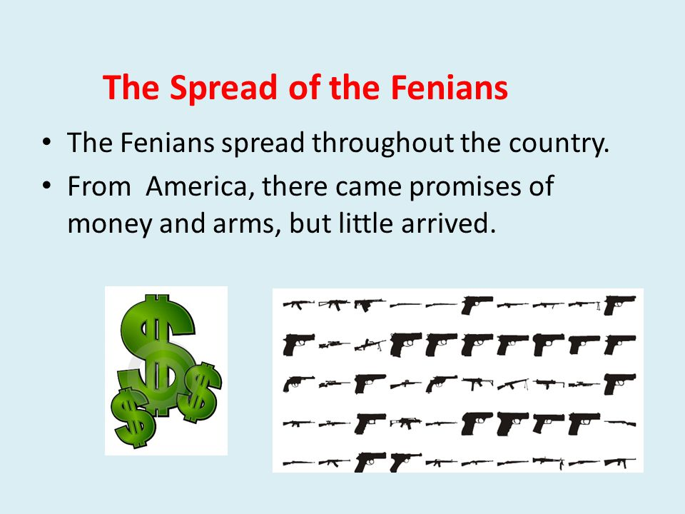 The Spread of the Fenians