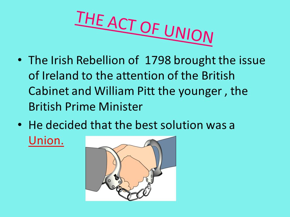 THE ACT OF UNION