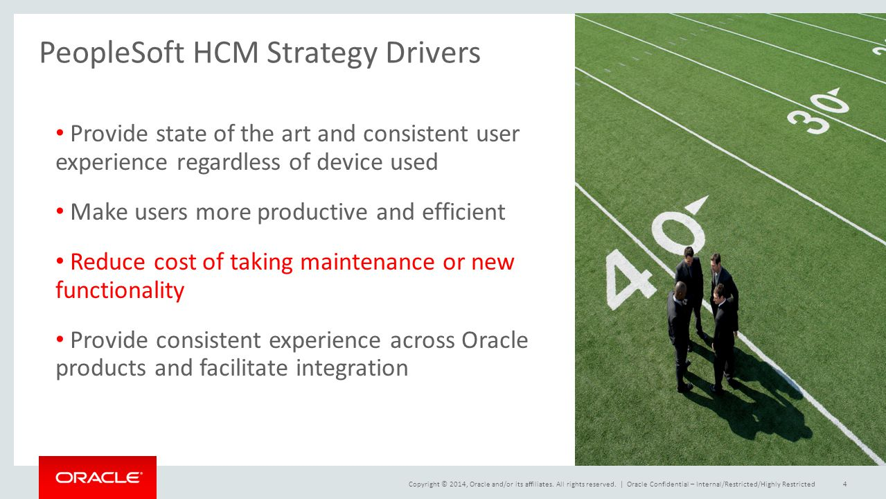PeopleSoft HCM Strategy Drivers