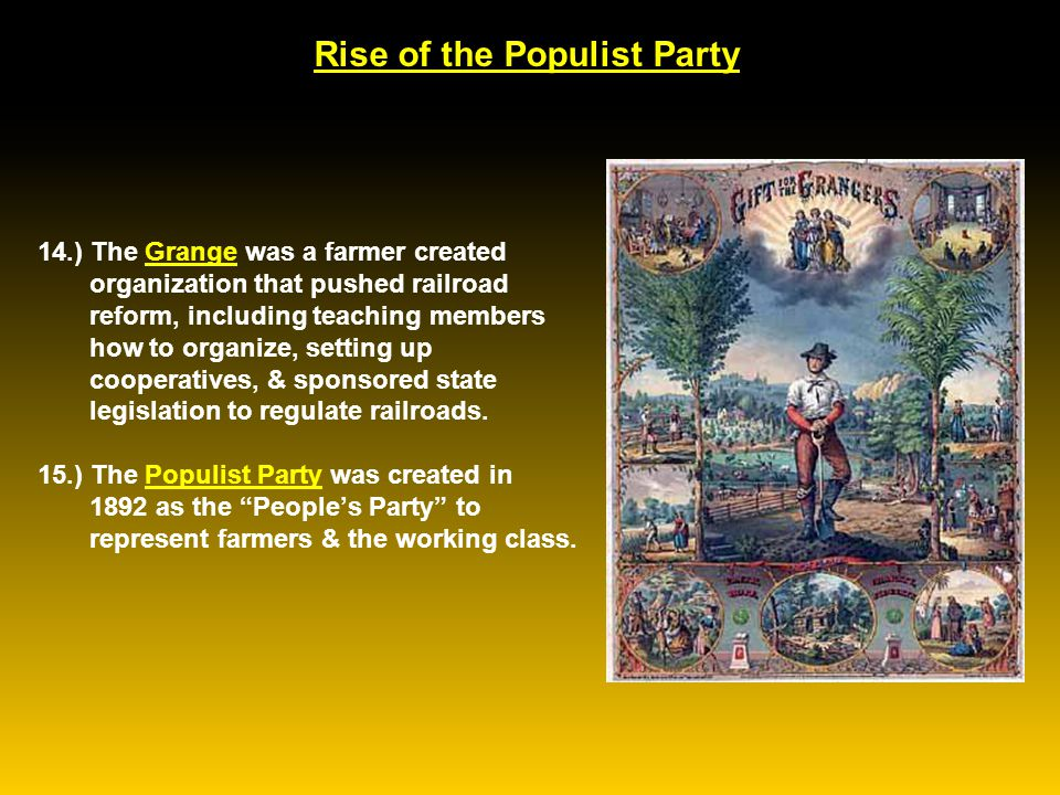Rise of the Populist Party