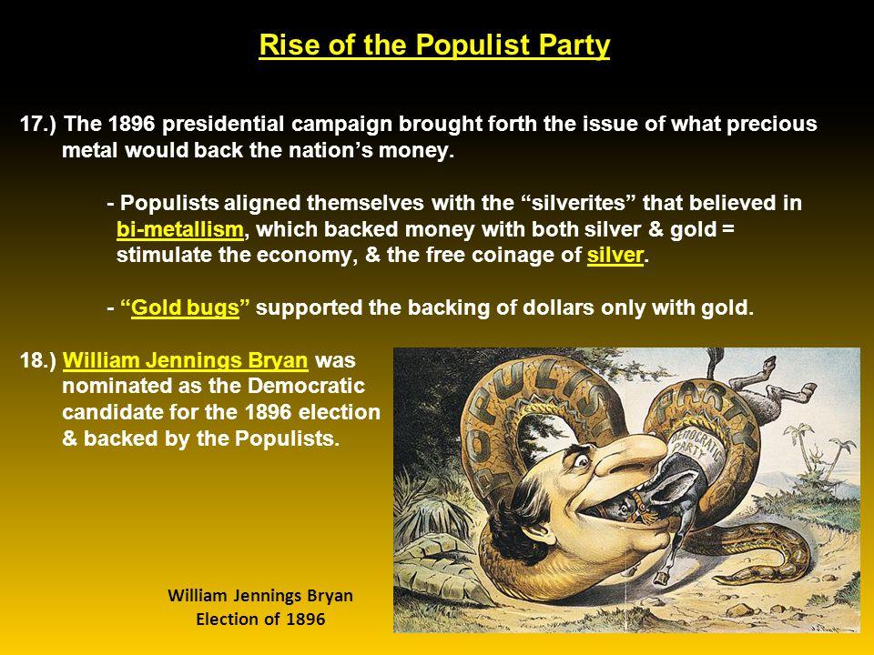 McKinley & the Gold Standard