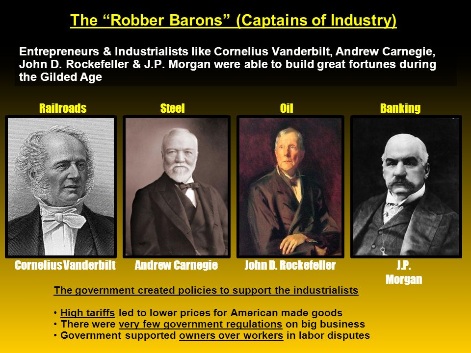 History Repeats Itself – The Robber Barons of the Middle Ages