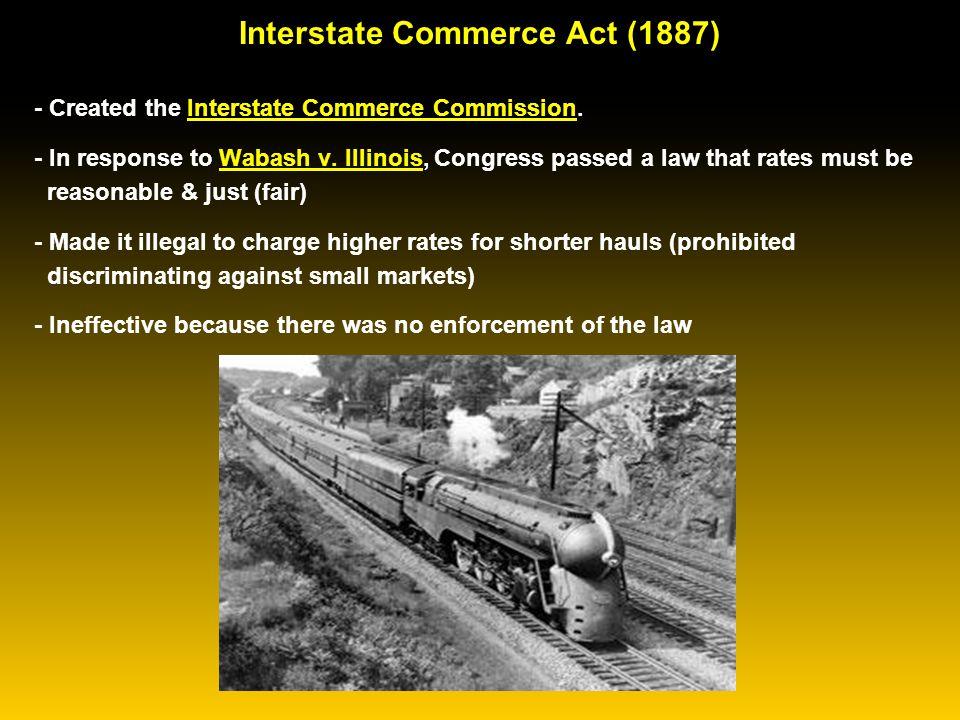 Sherman Antitrust Act (1890)