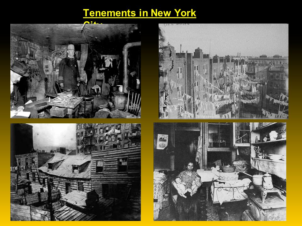 Dumbbell Tenements in New York City