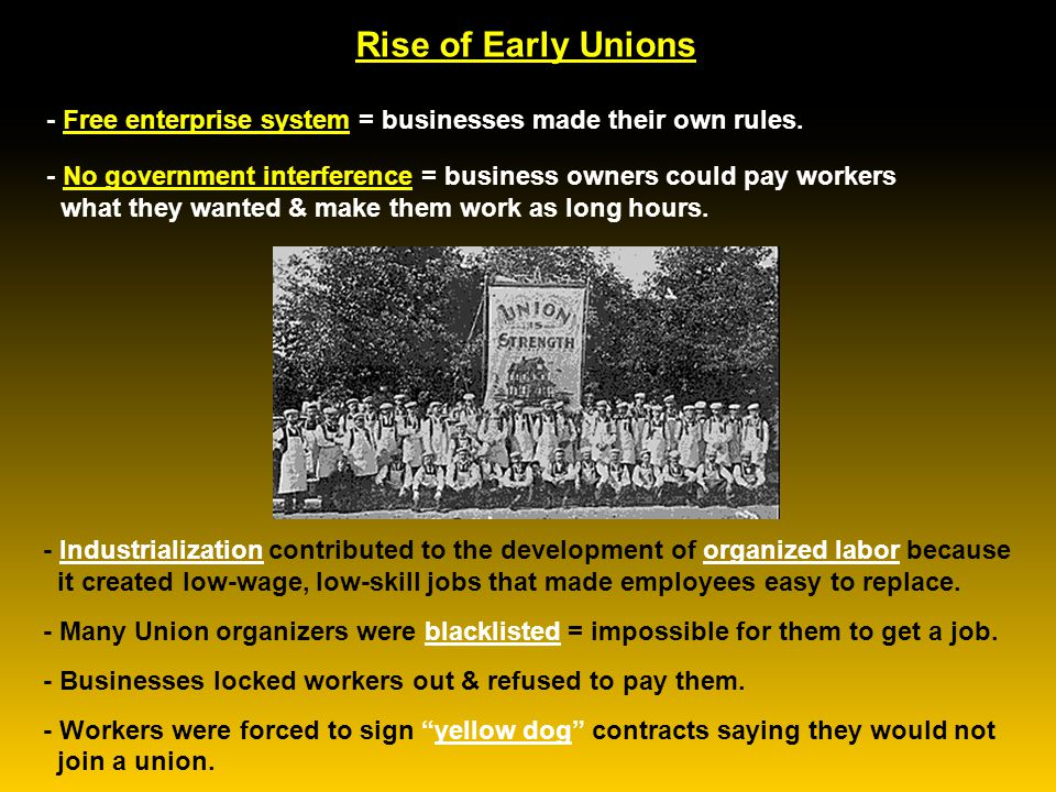 Key Labor Leaders - Eugene V. Debs was the powerful