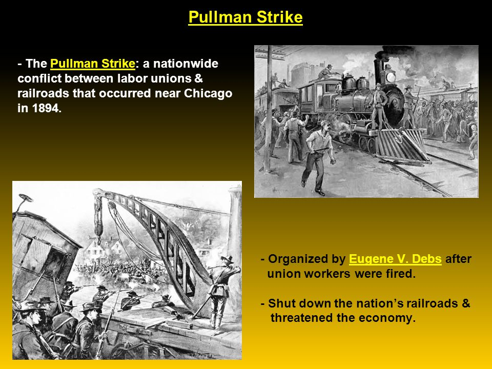 The Condition of the Laboring Man at Pullman
