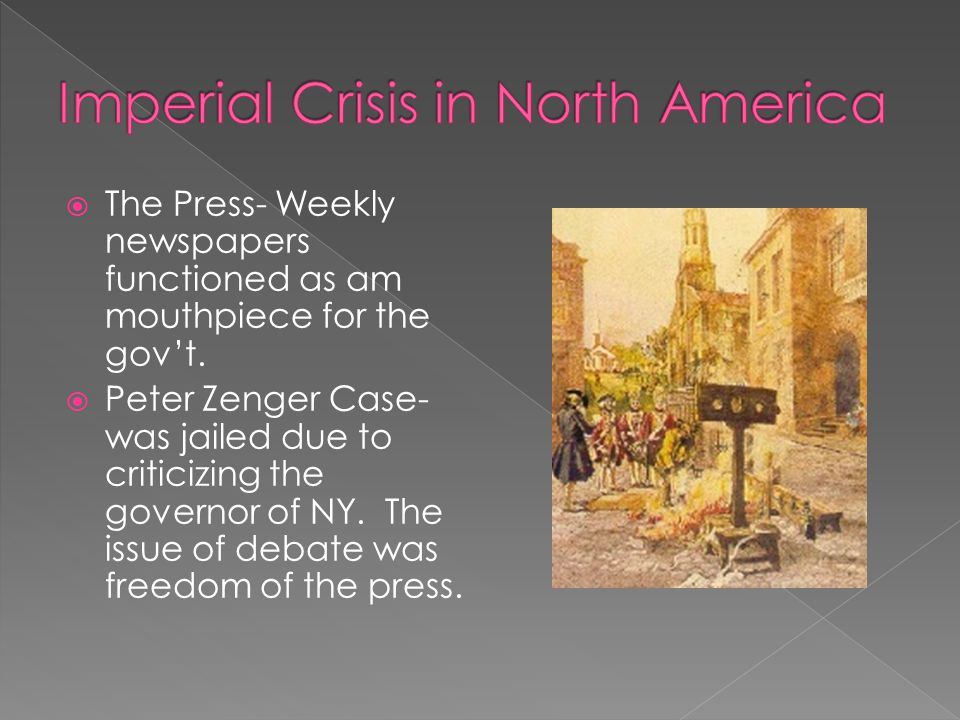 Imperial Crisis in North America