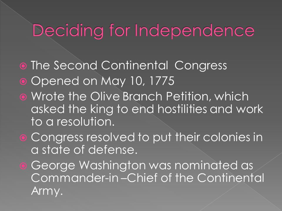 Deciding for Independence