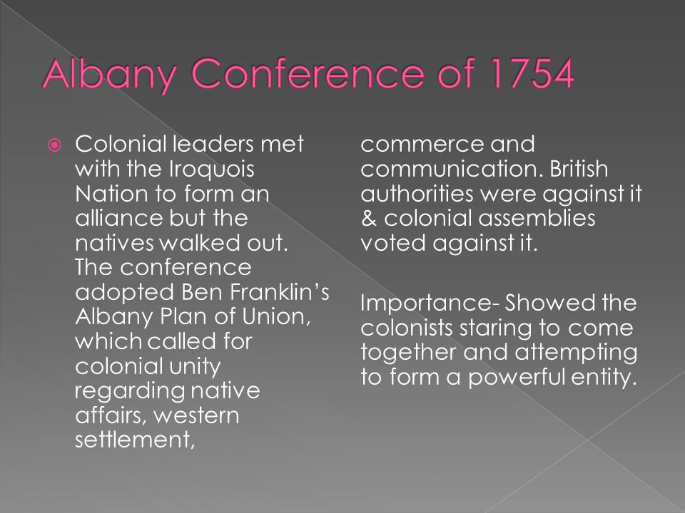 Albany Conference of 1754