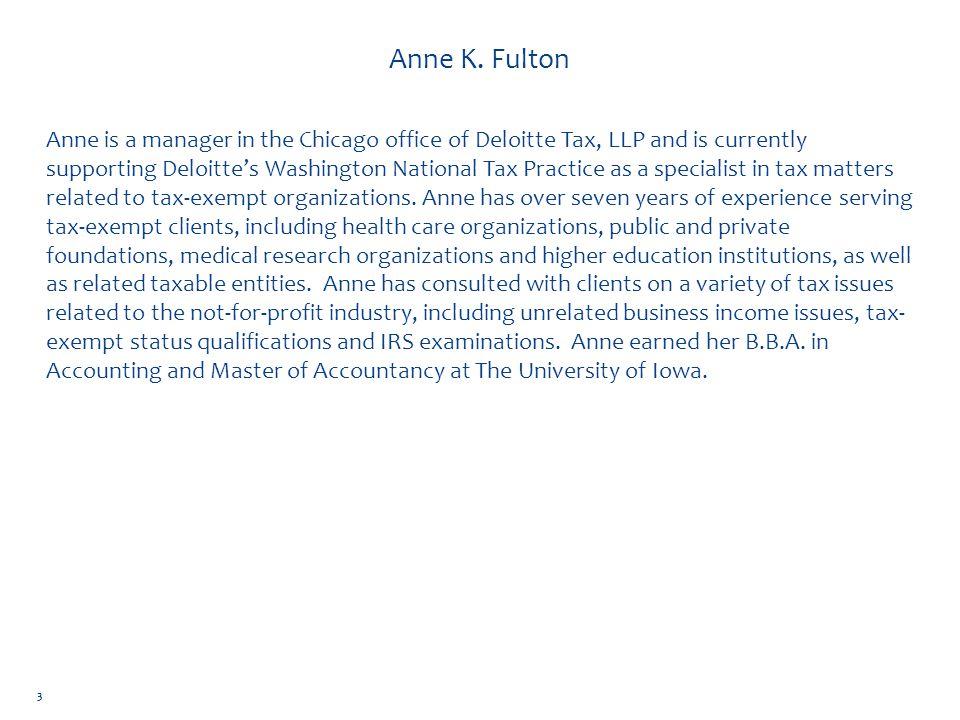 Anne K. Fulton
