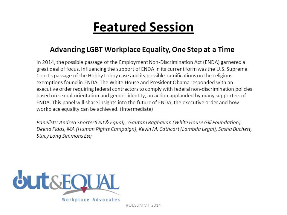 Advancing LGBT Workplace Equality, One Step at a Time
