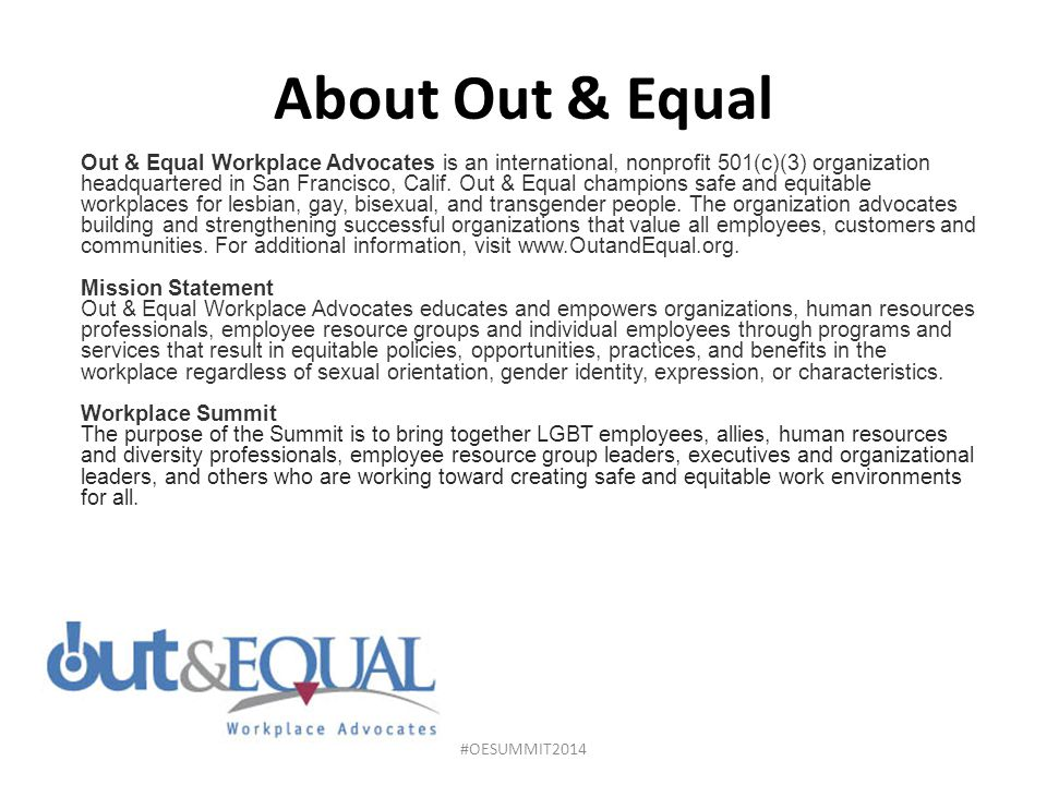 About Out & Equal