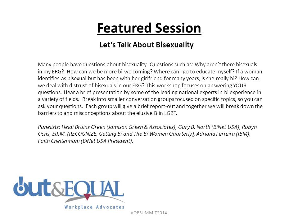 Let's Talk About Bisexuality