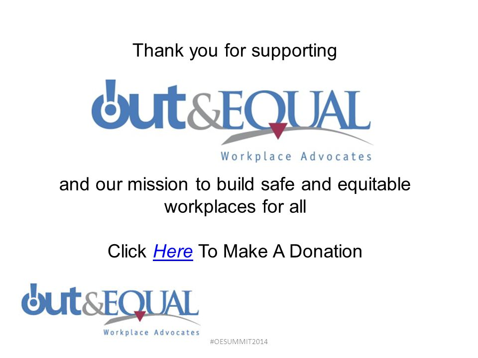 Thank you for supporting and our mission to build safe and equitable workplaces for all Click Here To Make A Donation