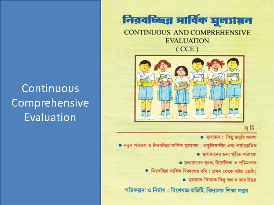 Continuous Comprehensive Evaluation