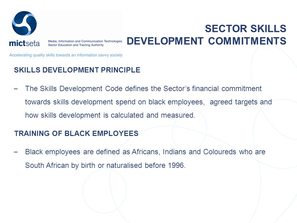 DEVELOPMENT COMMITMENTS