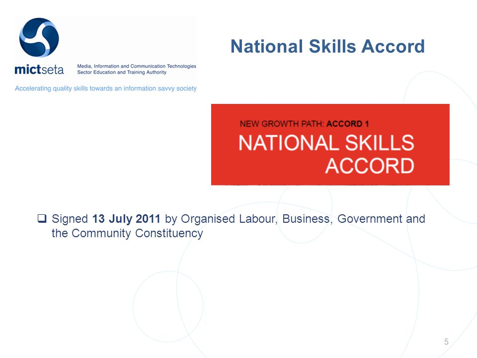 National Skills Accord