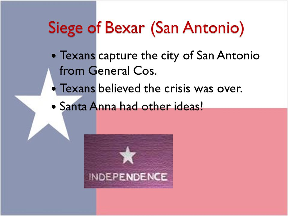 Siege of Bexar (San Antonio)
