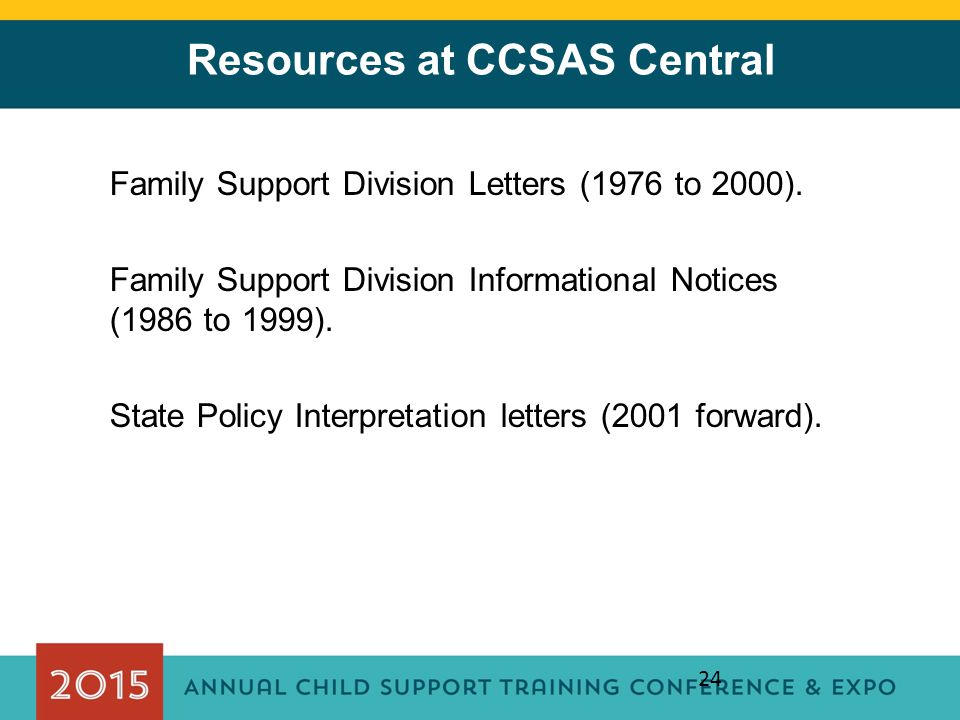 Resources at CCSAS Central