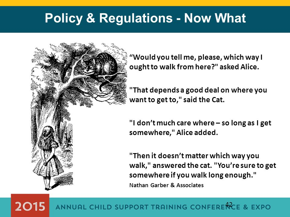 Policy & Regulations - Now What