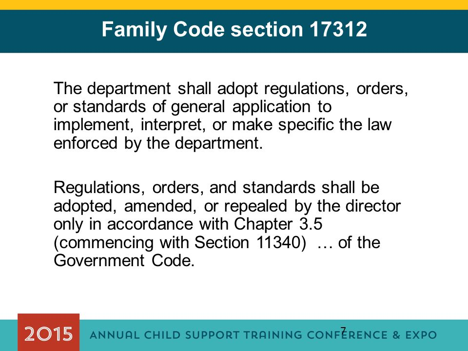 Family Code section 17312