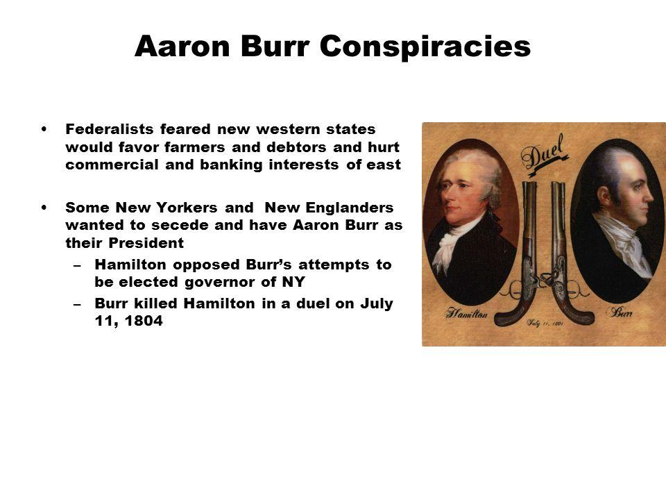 Aaron Burr Conspiracies