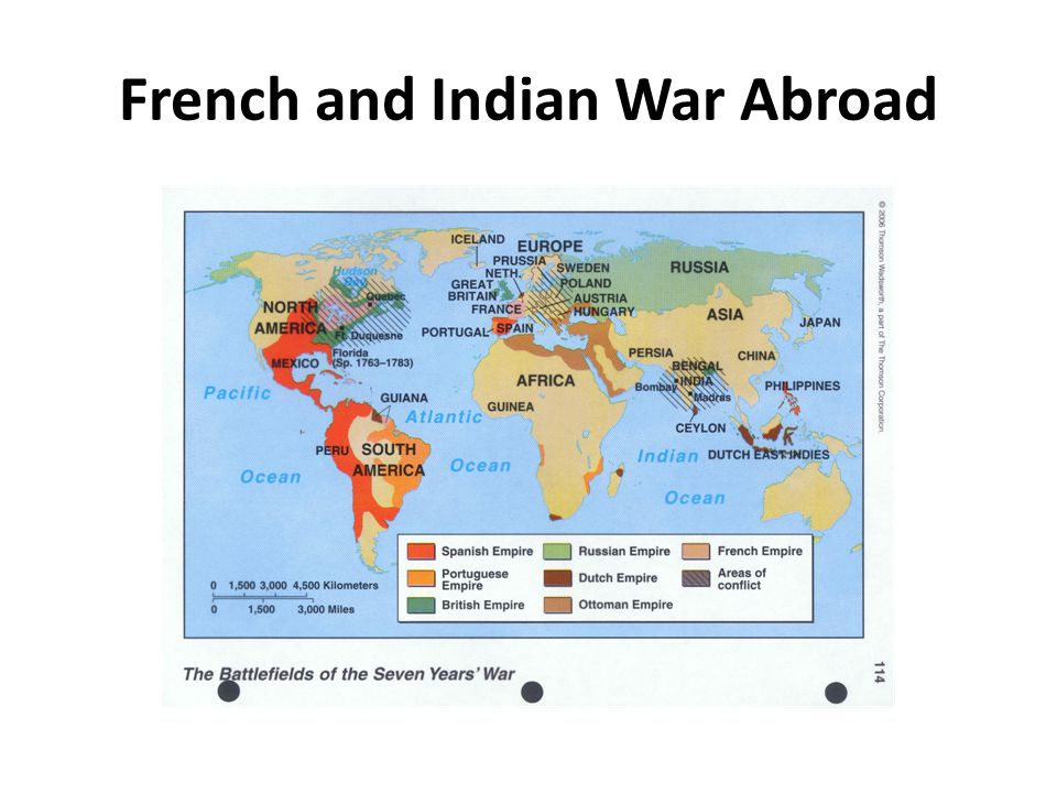 French and Indian War Abroad
