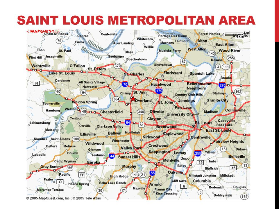 Saint Louis metropolitan area