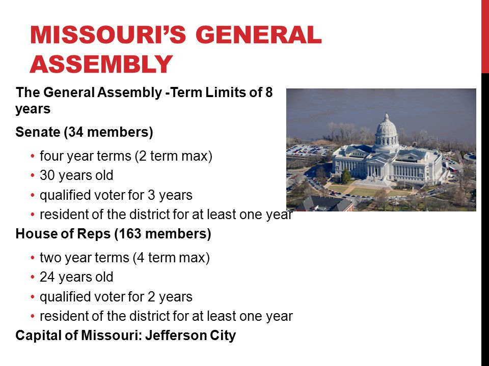 Missouri's General Assembly