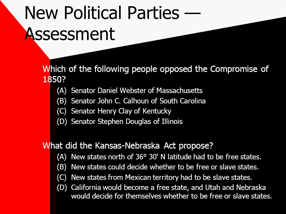 New Political Parties — Assessment