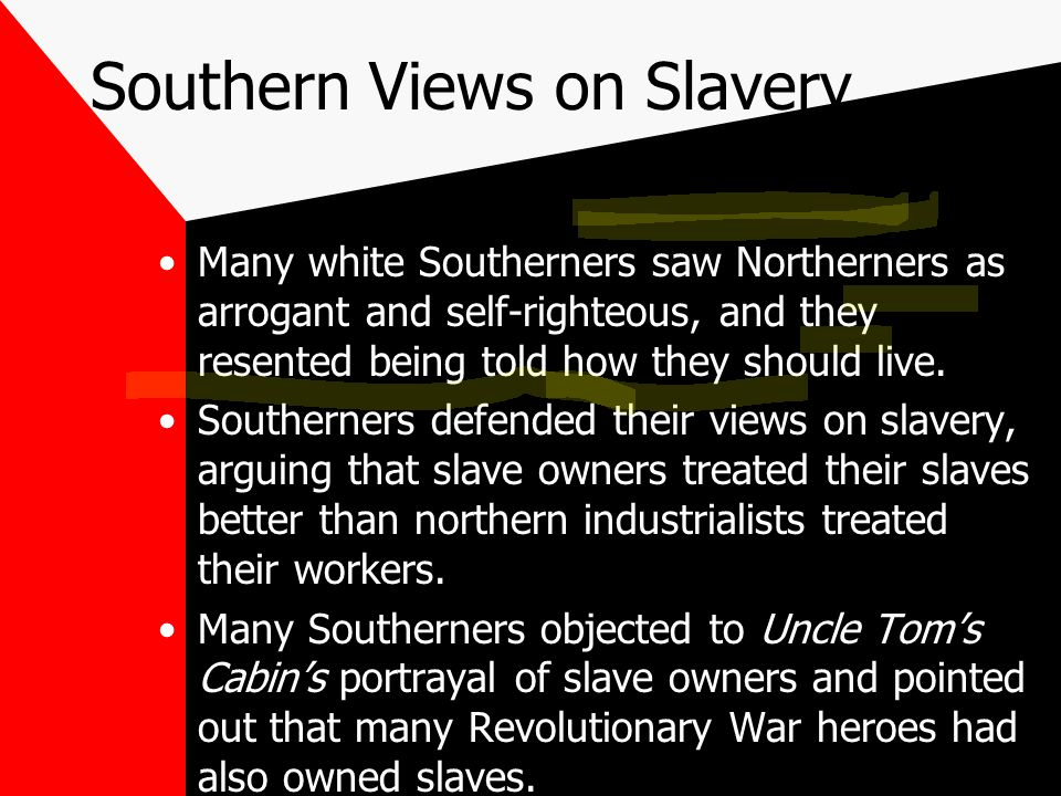 Southern Views on Slavery