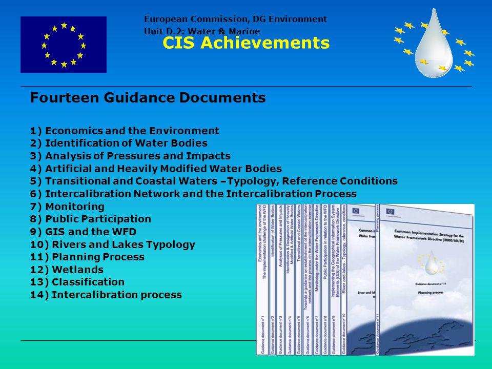 CIS Achievements Fourteen Guidance Documents
