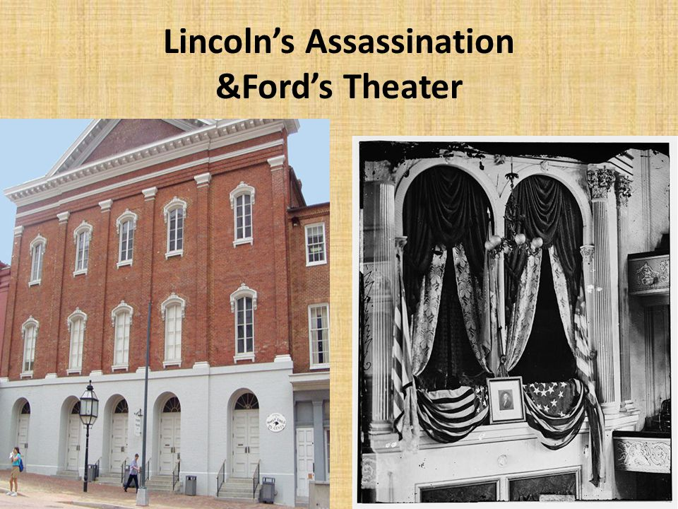 Lincoln's Assassination &Ford's Theater
