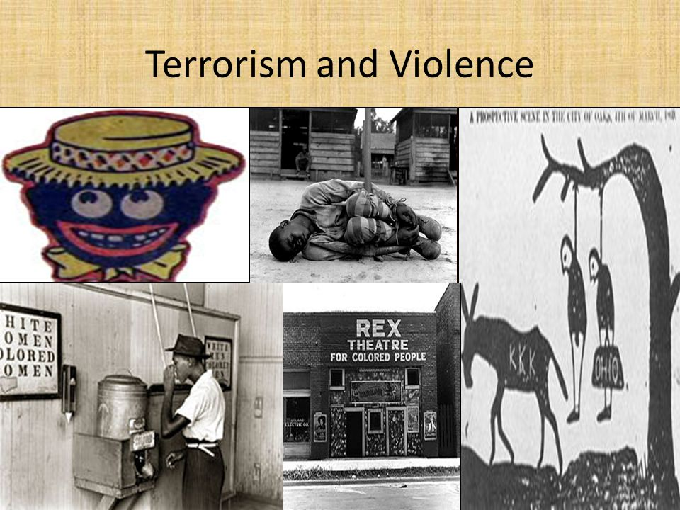 Terrorism and Violence