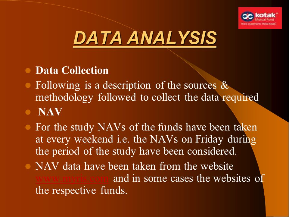 DATA ANALYSIS Data Collection