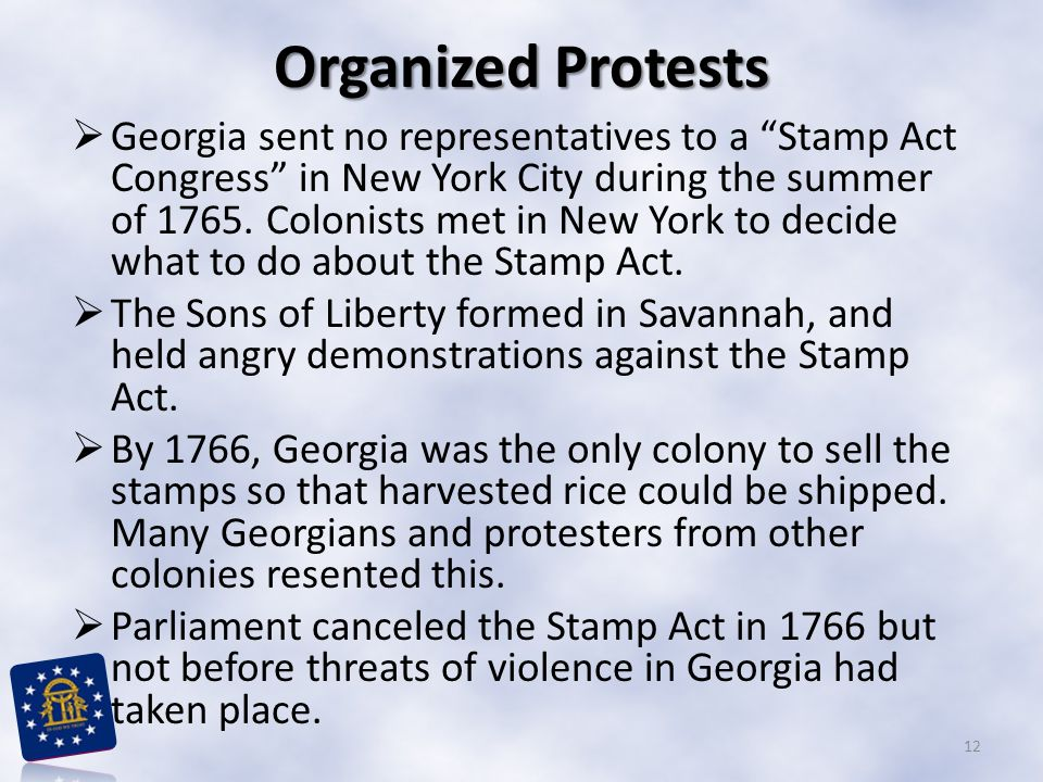 Organized Protests