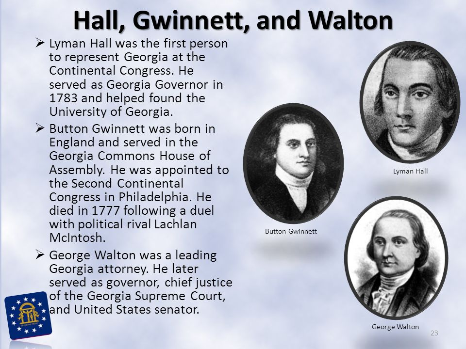 Hall, Gwinnett, and Walton