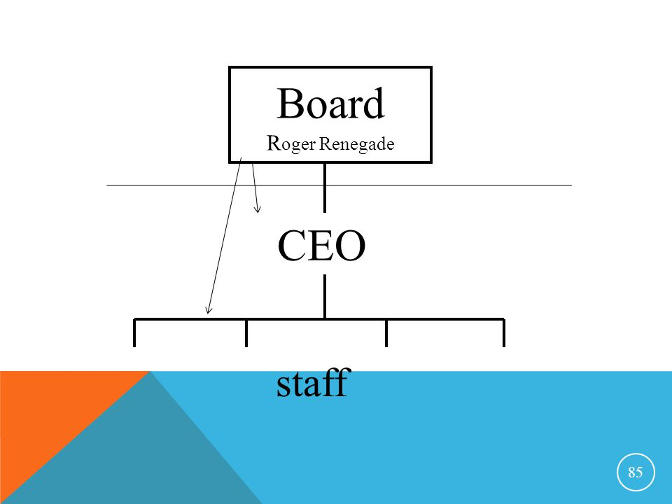 Board Roger Renegade CEO staff Notes by Mary E. Pritchard 12 Feb 2015
