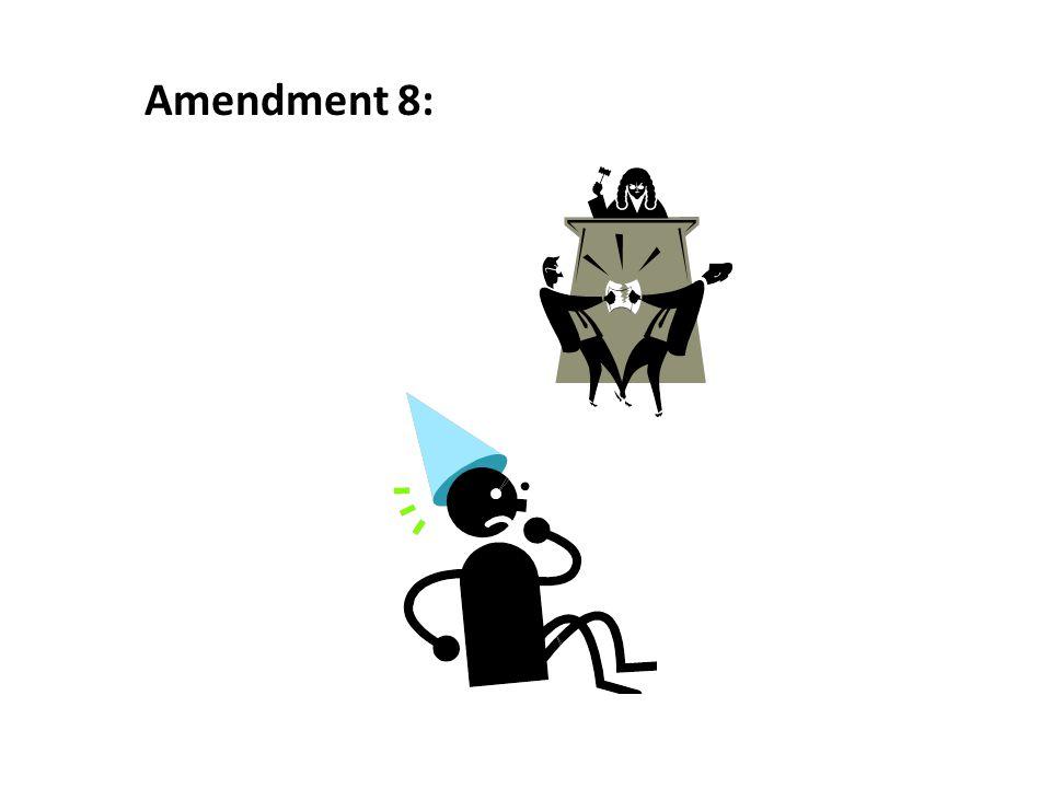 Amendment 8: