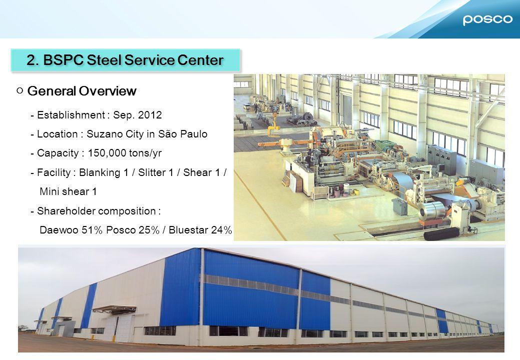 2. BSPC Steel Service Center