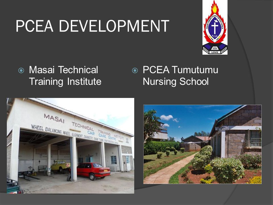 PCEA DEVELOPMENT Masai Technical Training Institute