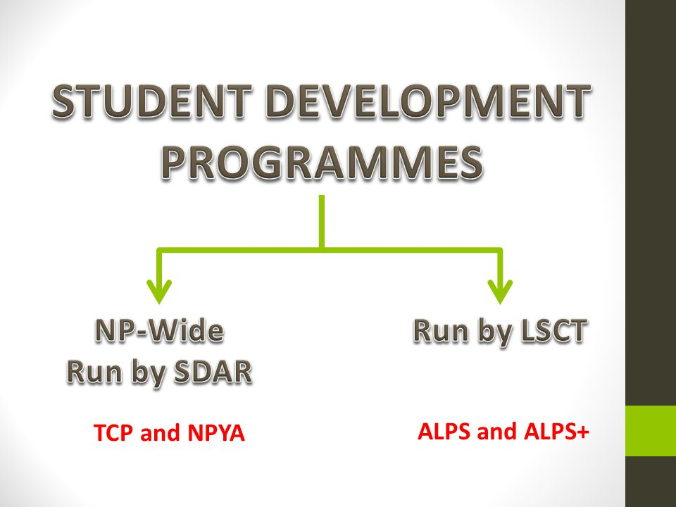 STUDENT DEVELOPMENT PROGRAMMES