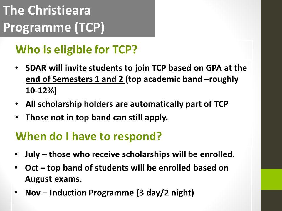The Christieara Programme (TCP)