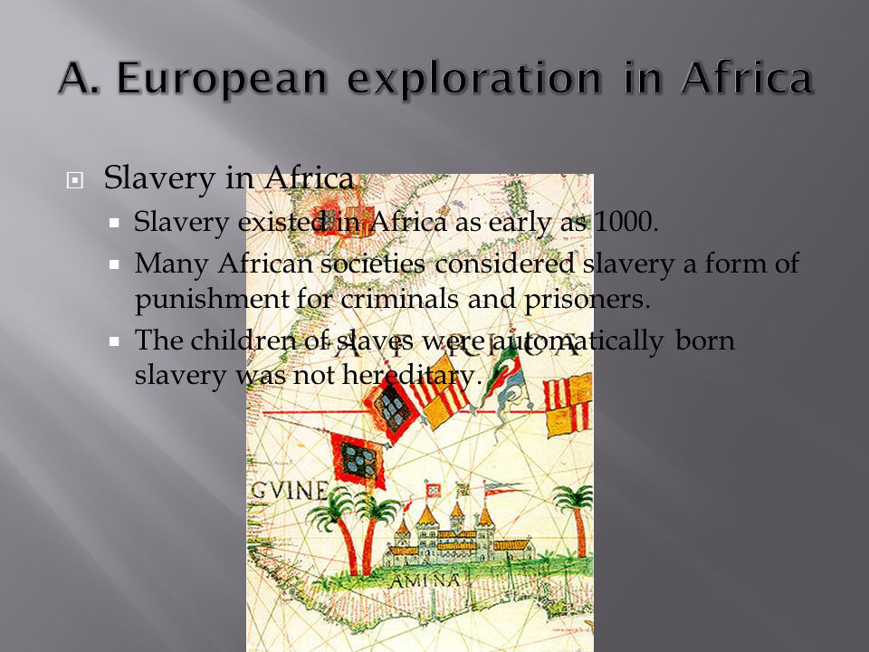 A. European exploration in Africa