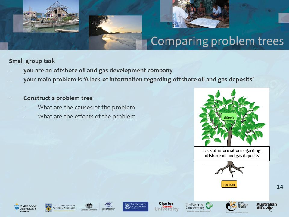 Comparing problem trees