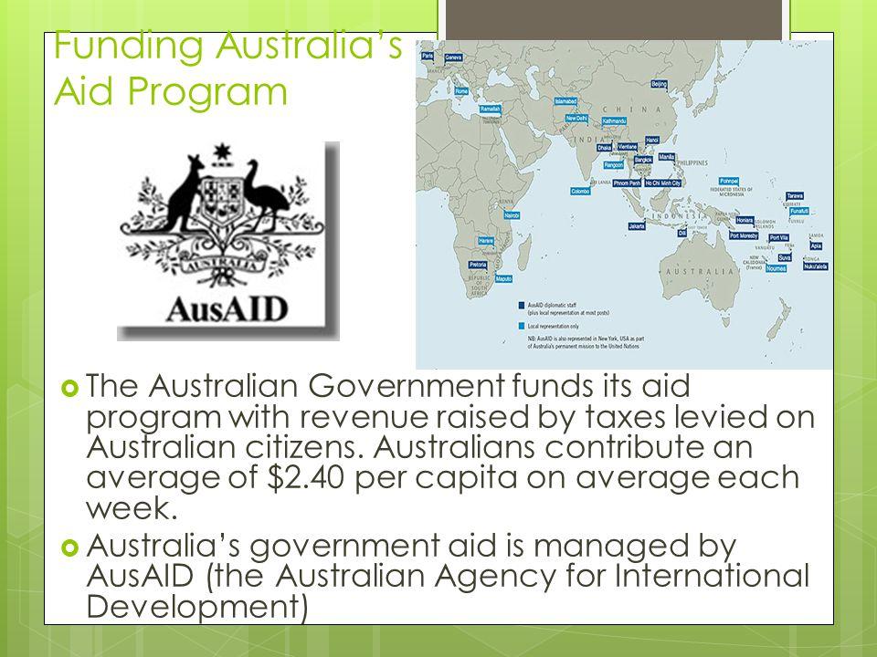 Funding Australia's Aid Program