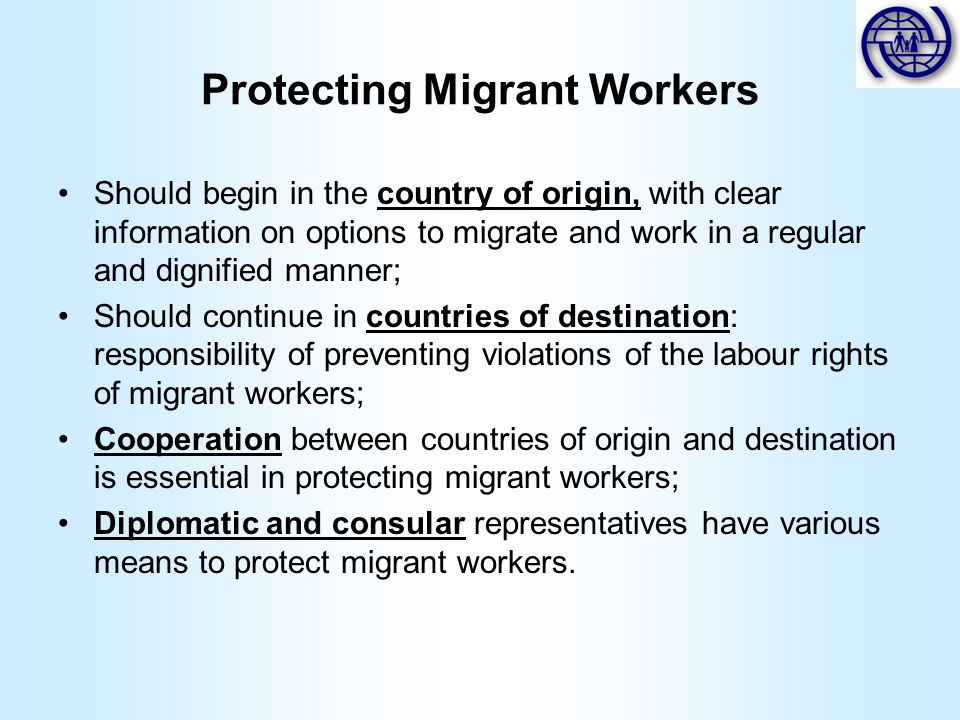 Protecting Migrant Workers