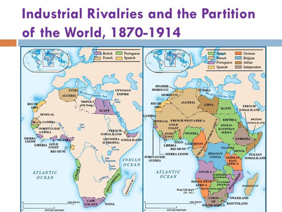 Industrial Rivalries and the Partition of the World, 1870-1914