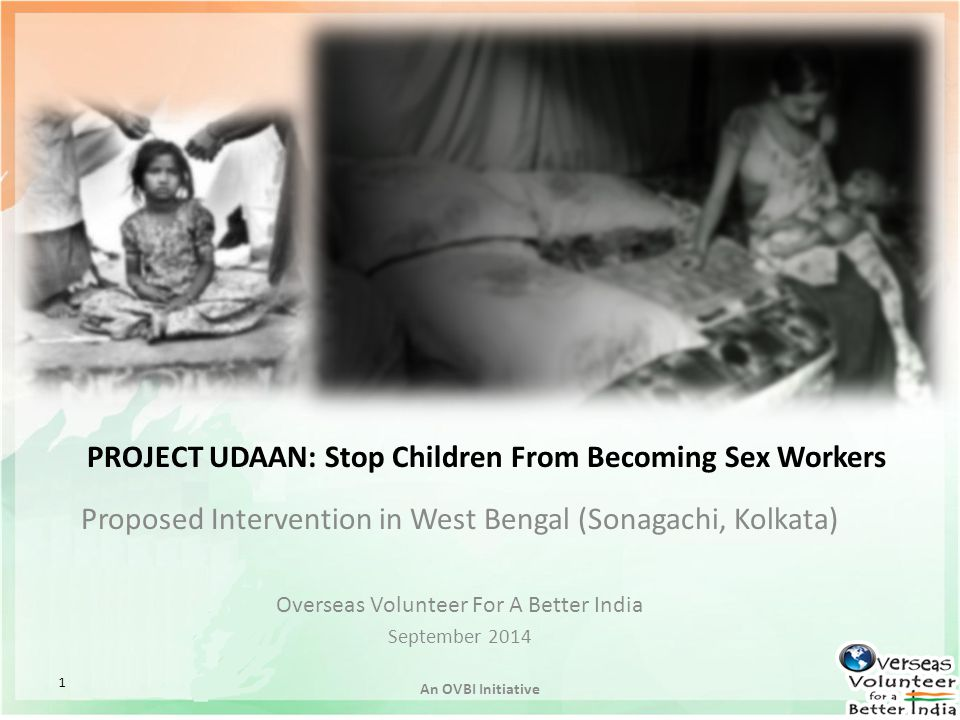 PROJECT UDAAN: Stop Children From Becoming Sex Workers